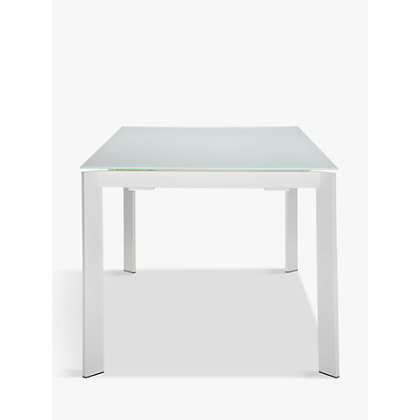 Buy John Lewis Odyssey 6-10 Seater Glass Top Extending Dining Table Online at johnlewis.com