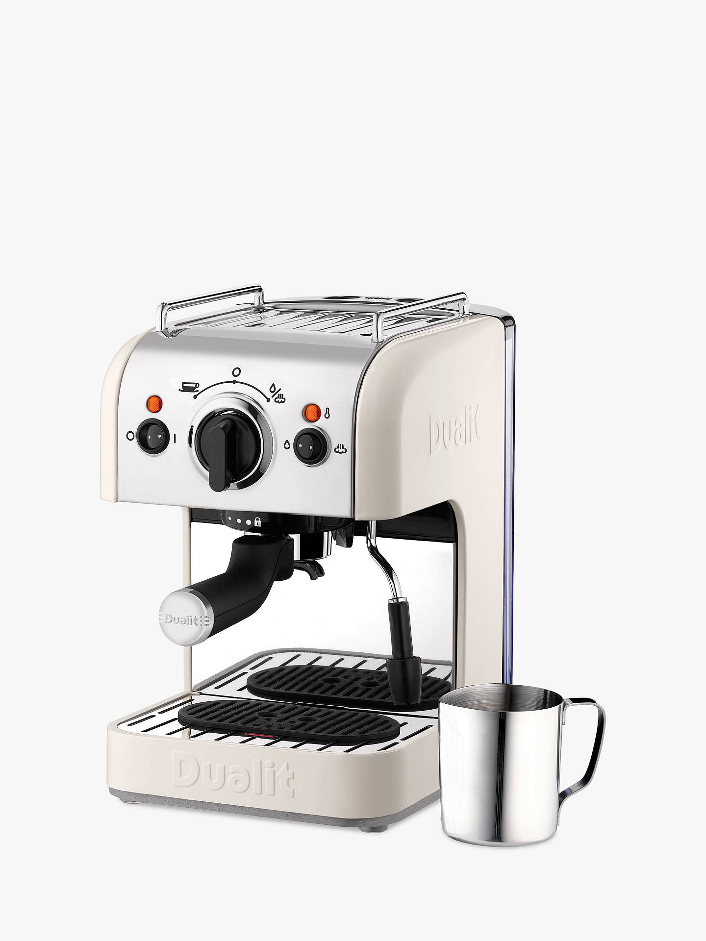 Dualit Dcm2x Coffee System And Jug Canvas White Canvas White