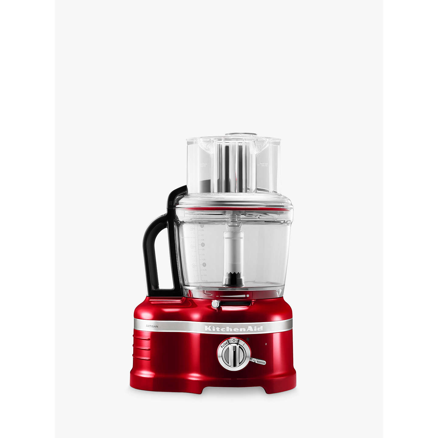 BuyKitchenAid Artisan 4L Food Processor, Candy Apple Online at johnlewis.com