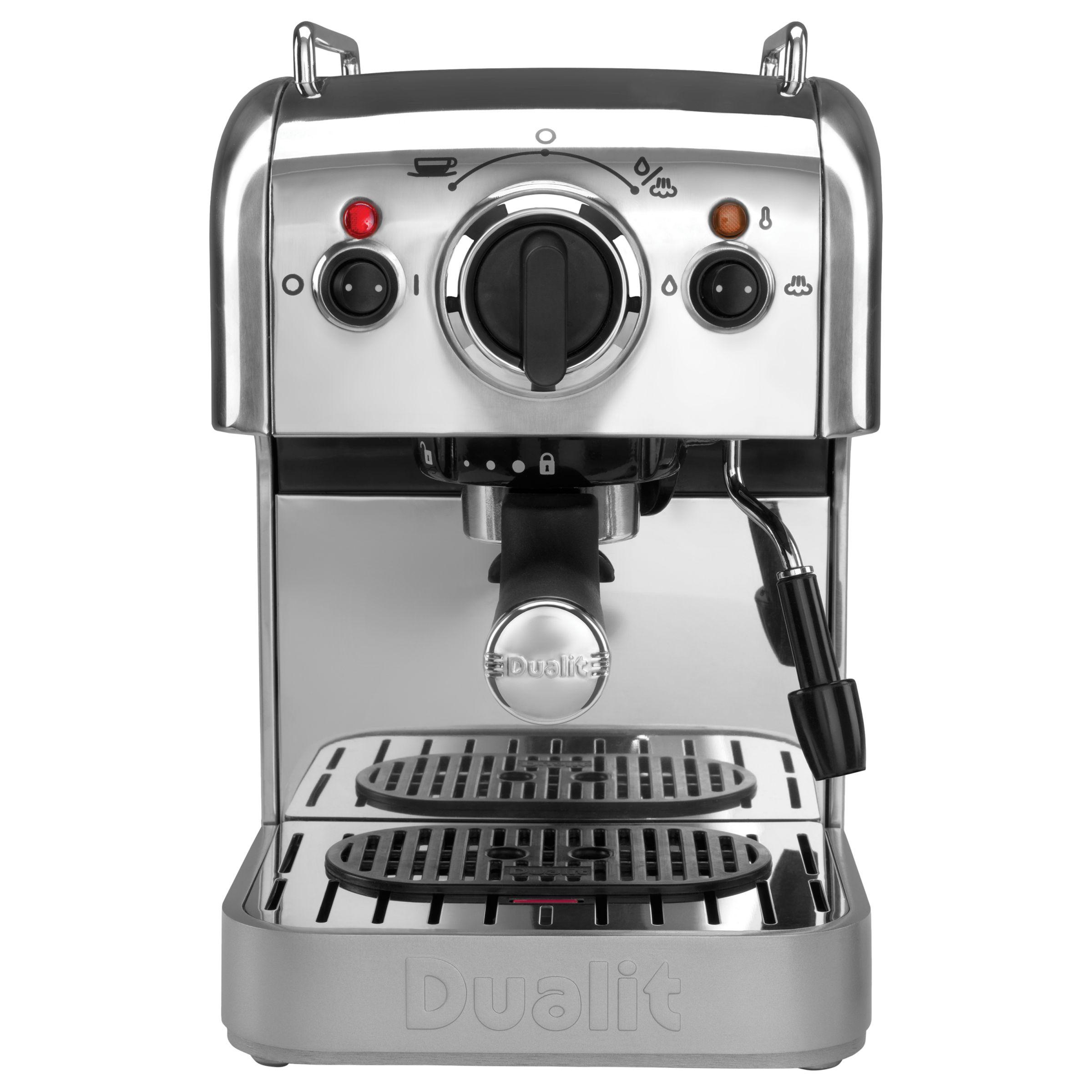 Dualit Dualit DCM2X Coffee System and Jug, Polished Steel
