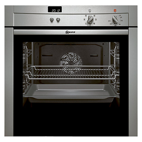 Buy Neff B44S42N3GB Slide and Hide Single Electric Oven, Stainless Steel Online at johnlewis.com