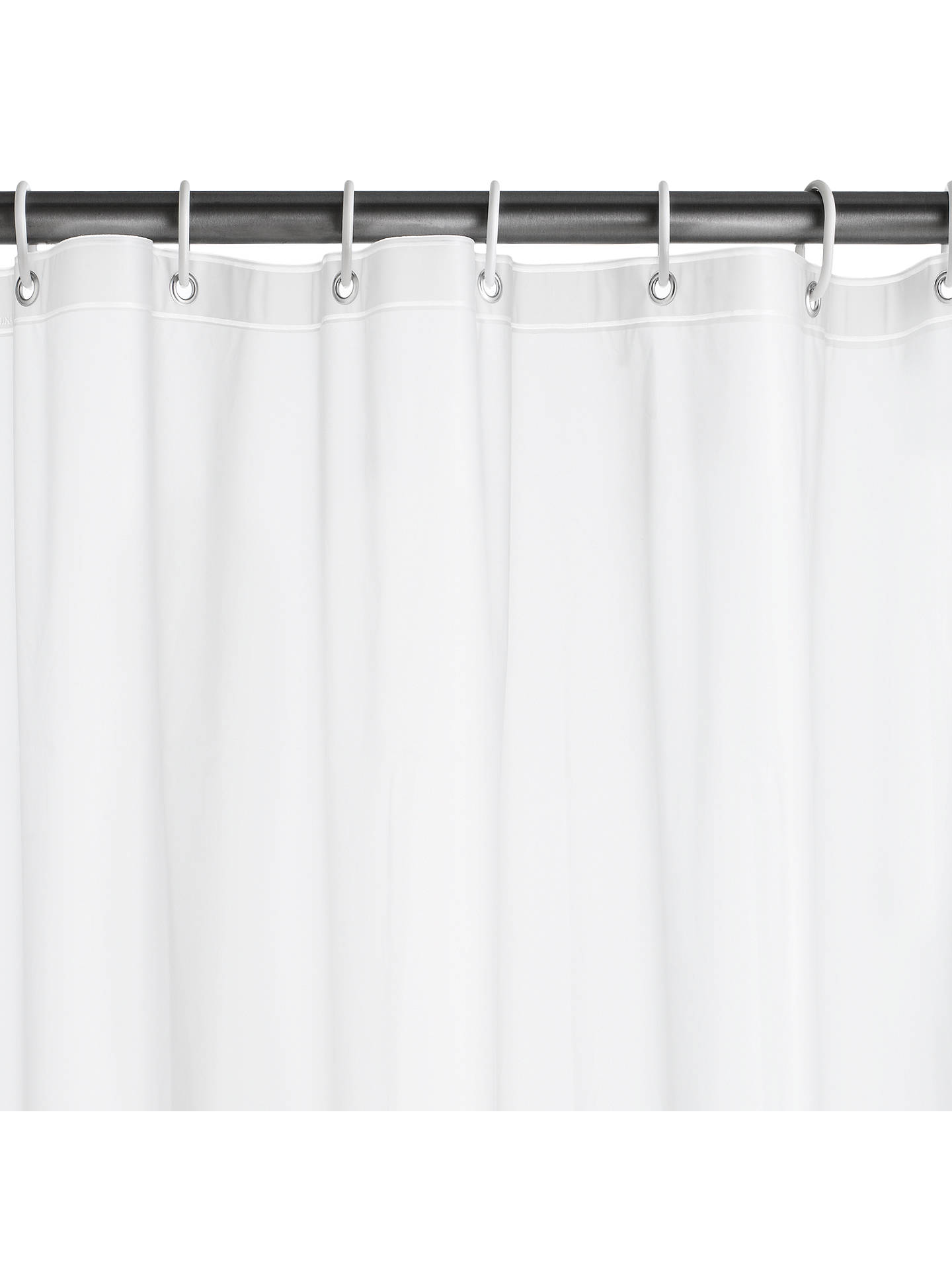 BuyJohn Lewis PEVA Shower Curtain Liner Clear Online At Johnlewis