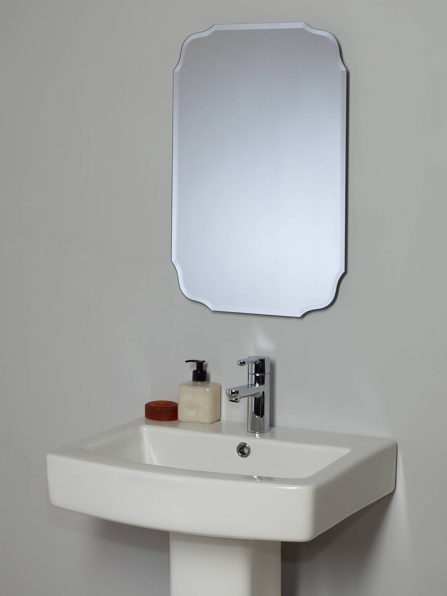 Wondrous John Lewis Partners Vintage Bathroom Wall Mirror Download Free Architecture Designs Sospemadebymaigaardcom
