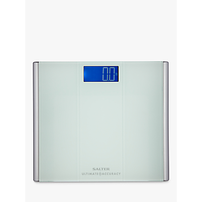 Salter Ultimate Accuracy Digital Bathroom Scale, Glass