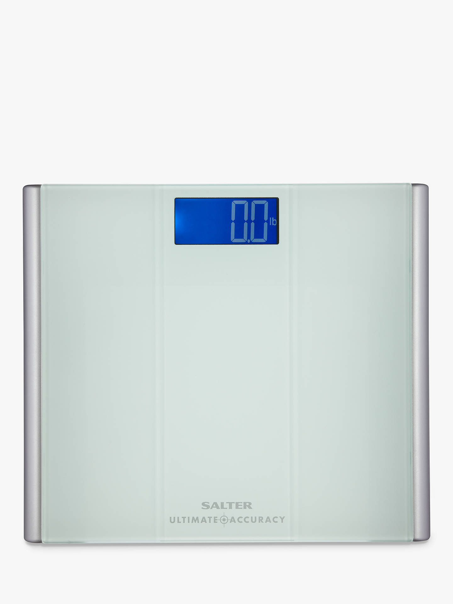 Salter Ultimate Accuracy Digital Bathroom Scale, Glass At