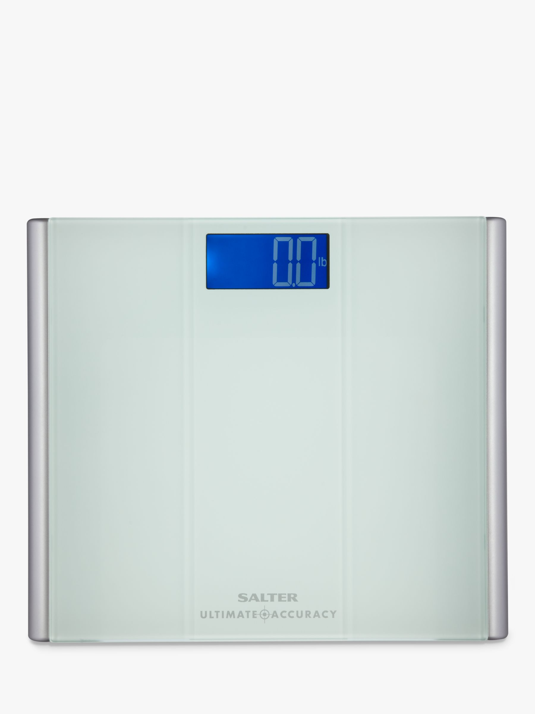 Salter Salter Ultimate Accuracy Digital Bathroom Scale, Glass