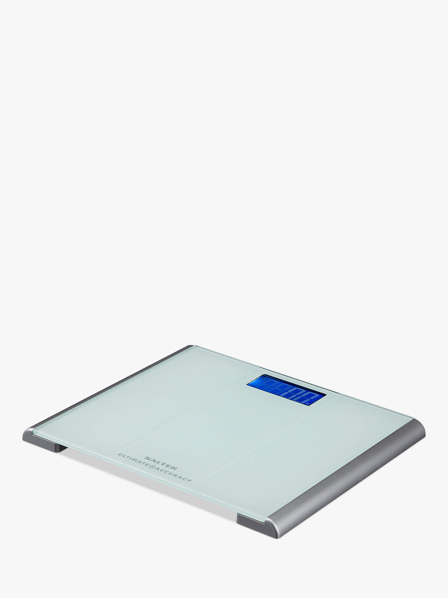 Salter Ultimate Accuracy Digital Bathroom Scale, Glass at ...