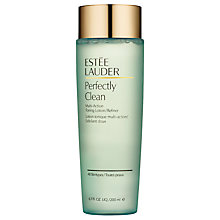 Buy Estée Lauder Perfectly Clean Multi Action Toning Lotion/Refiner, 200ml Online at johnlewis.com
