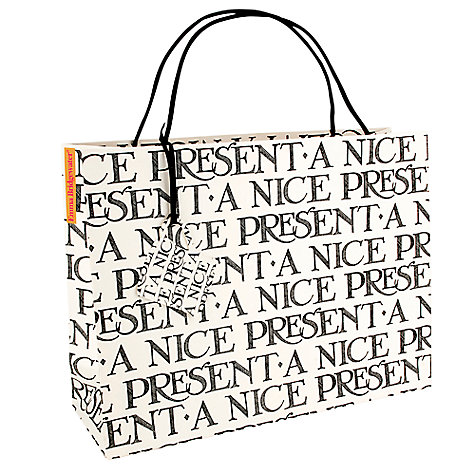 Buy Emma Bridgewater Nice Present Gift Bag, Large Online at johnlewis.com