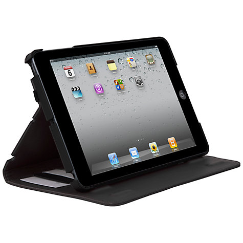 Buy Hex Axis Folio for iPad mini, Black & Grey Stripes Online at johnlewis.com