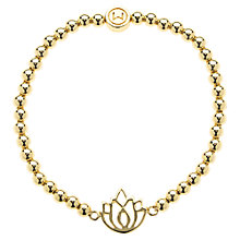 Buy Melissa Odabash Lotus Stretch Bracelet Online at johnlewis.com