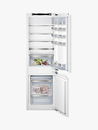 Siemens KI86SAF30G Integrated 70/30 Fridge Freezer, Fixed Door Hinge, A++ Energy Rating, 56cm Wide