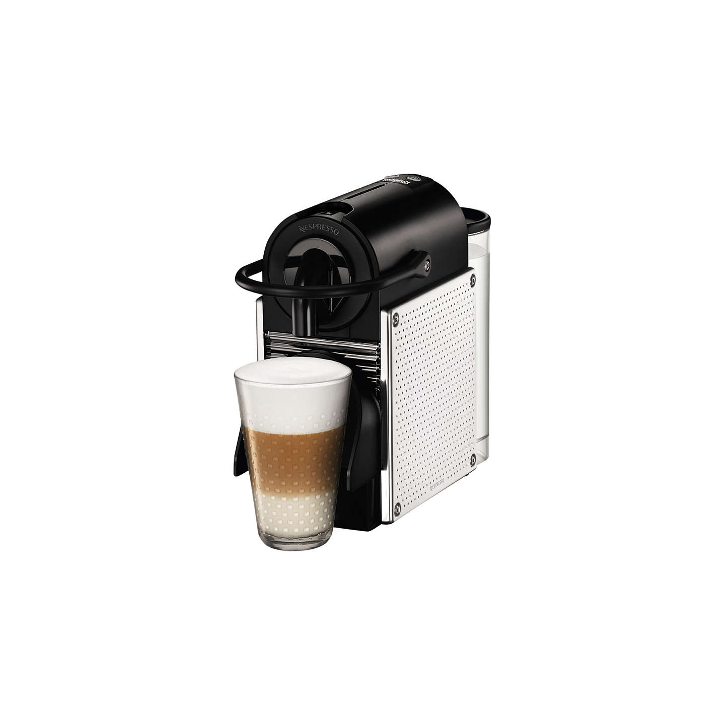 nespresso pixie automatic coffee machine by magimix at john lewis. Black Bedroom Furniture Sets. Home Design Ideas