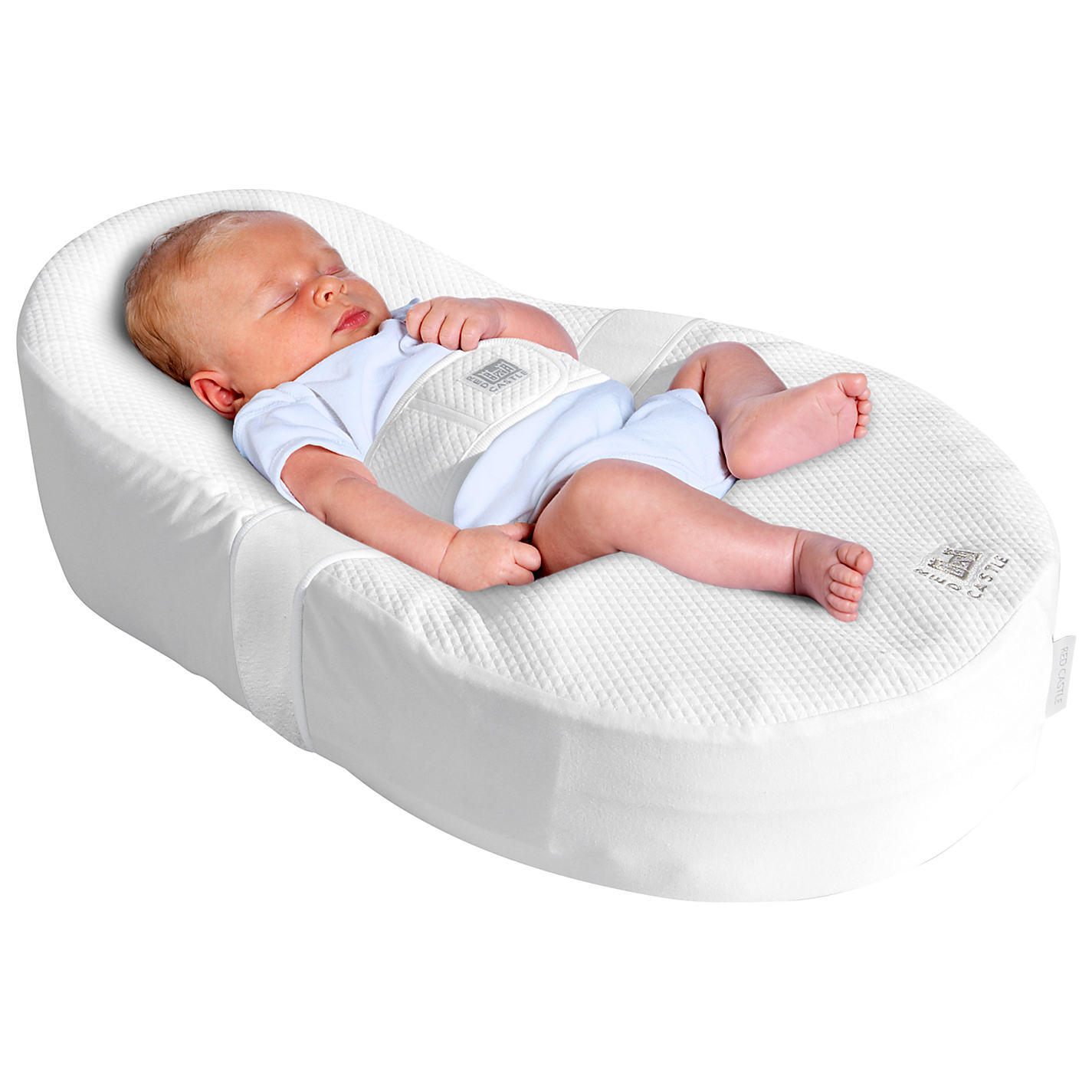 Foam baby chairs - Cocoonababy Nest And Fitted Sheet White
