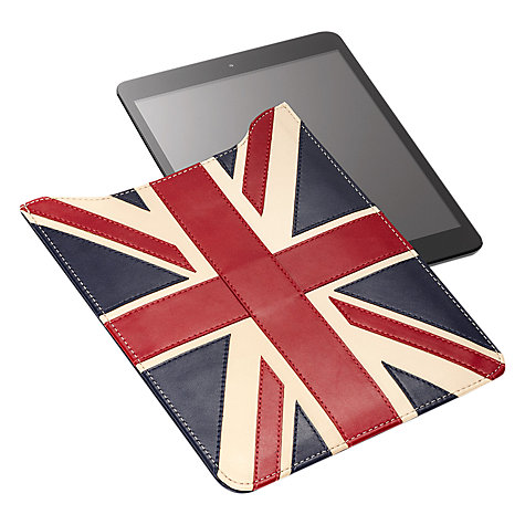 Buy Aspinal of London Brit iPad Mini Sleeve, Red/White/Blue Online at johnlewis.com