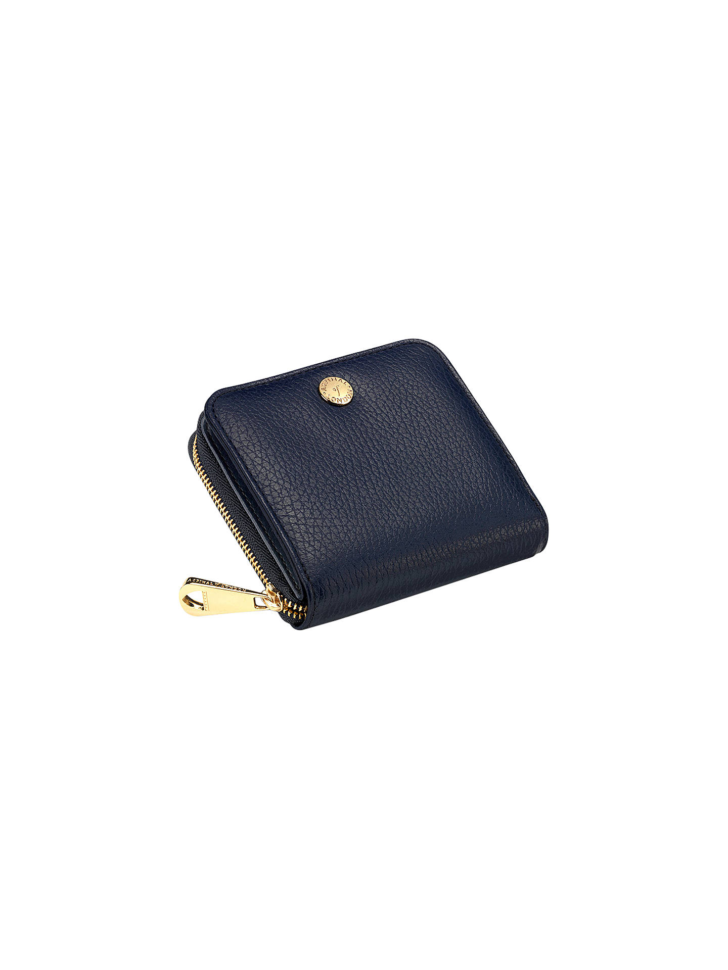 6c3965b5c63b Aspinal of London Katie Mini Continental Leather Zipped Purse at ...