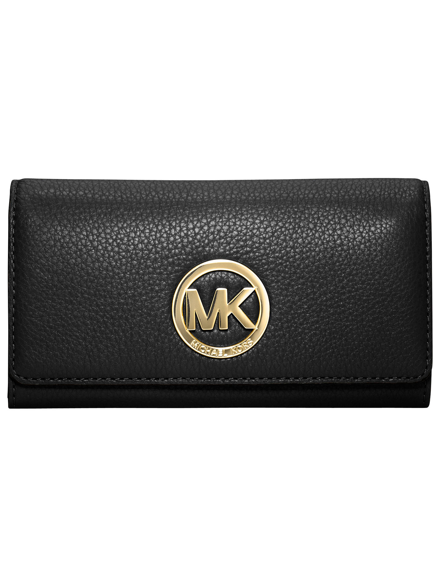 d936bb669836 Buy MICHAEL Michael Kors Fulton Carryall Leather Purse, Black Online at  johnlewis.com ...