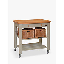 Buy Eddingtons Lambourn 2 Drawer Butcher's Trolley Online at johnlewis.com