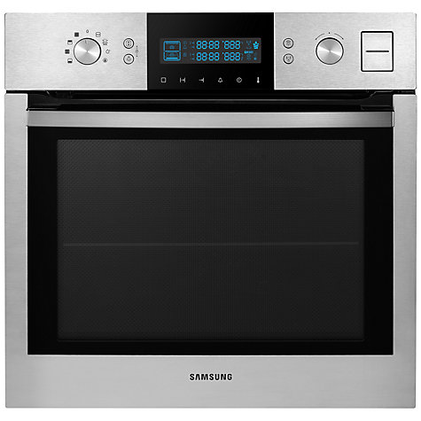 Buy Samsung BQ1VD6T131 Dual Cook Single Electric Steam Oven, Stainless Steel Online at johnlewis.com