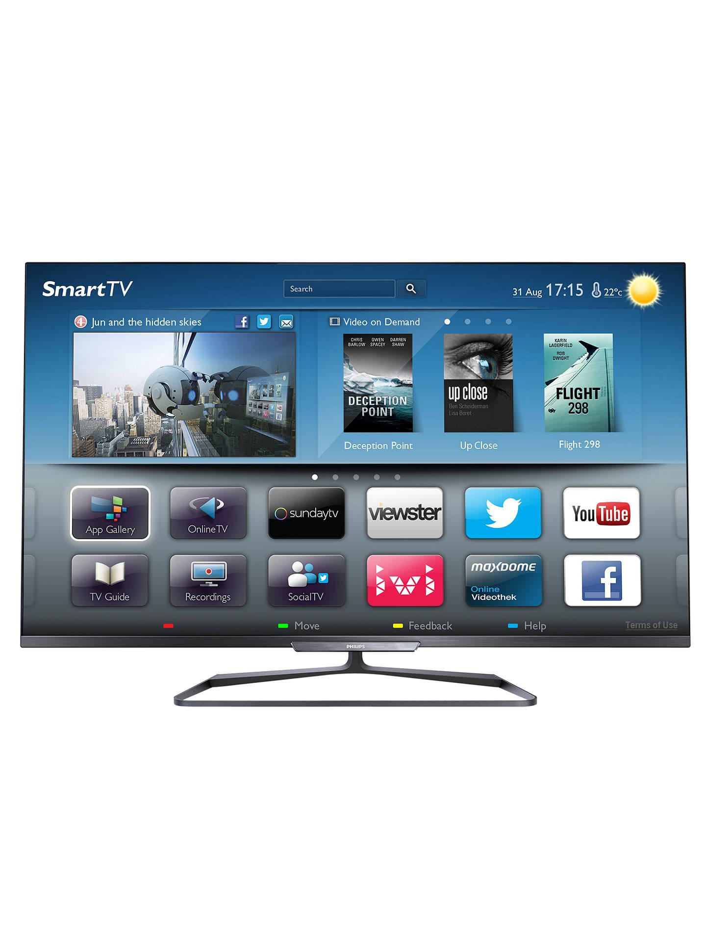 Philips 42PFL6008S LED 1080p 3D Smart TV, 42