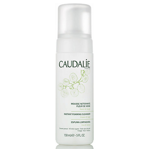 Buy Caudalie Instant Foaming Cleanser, 150ml Online at johnlewis.com
