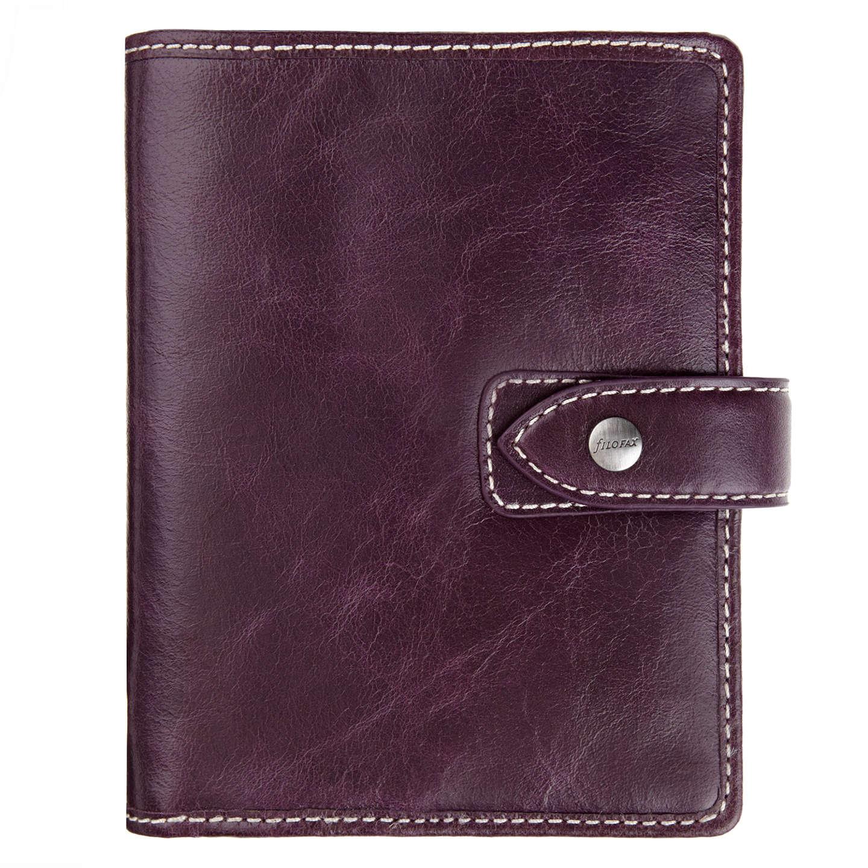 BuyFilofax Malden Leather Pocket Organiser, Purple Online at johnlewis.com  ...