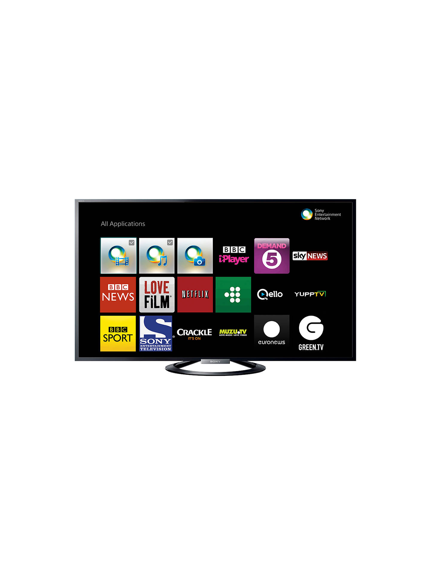 Sony bravia kdl55w805 led hd 1080p 3d smart tv 55 nfc with freeview hd at john lewis partners - Sony bravia logo hd ...