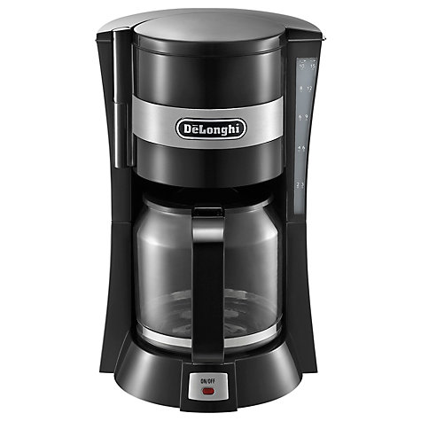 Buy De'Longhi ICM15210 Filter Coffee Maker, Black Online at johnlewis.com