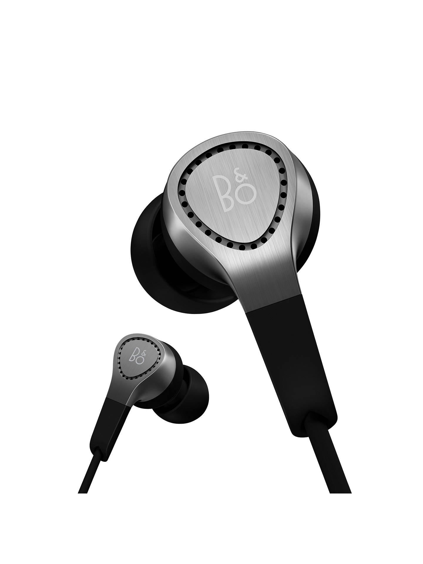 BuyBang & Olufsen Beoplay H3 In-Ear Headphones with Mic/Remote for iOS Devices, Silver Online at johnlewis.com