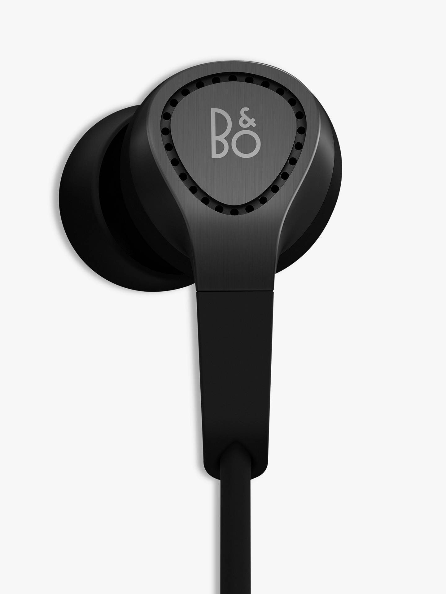 Buy Bang & Olufsen Beoplay H3 In-Ear Headphones with Mic/Remote for iOS Devices, Black Online at johnlewis.com