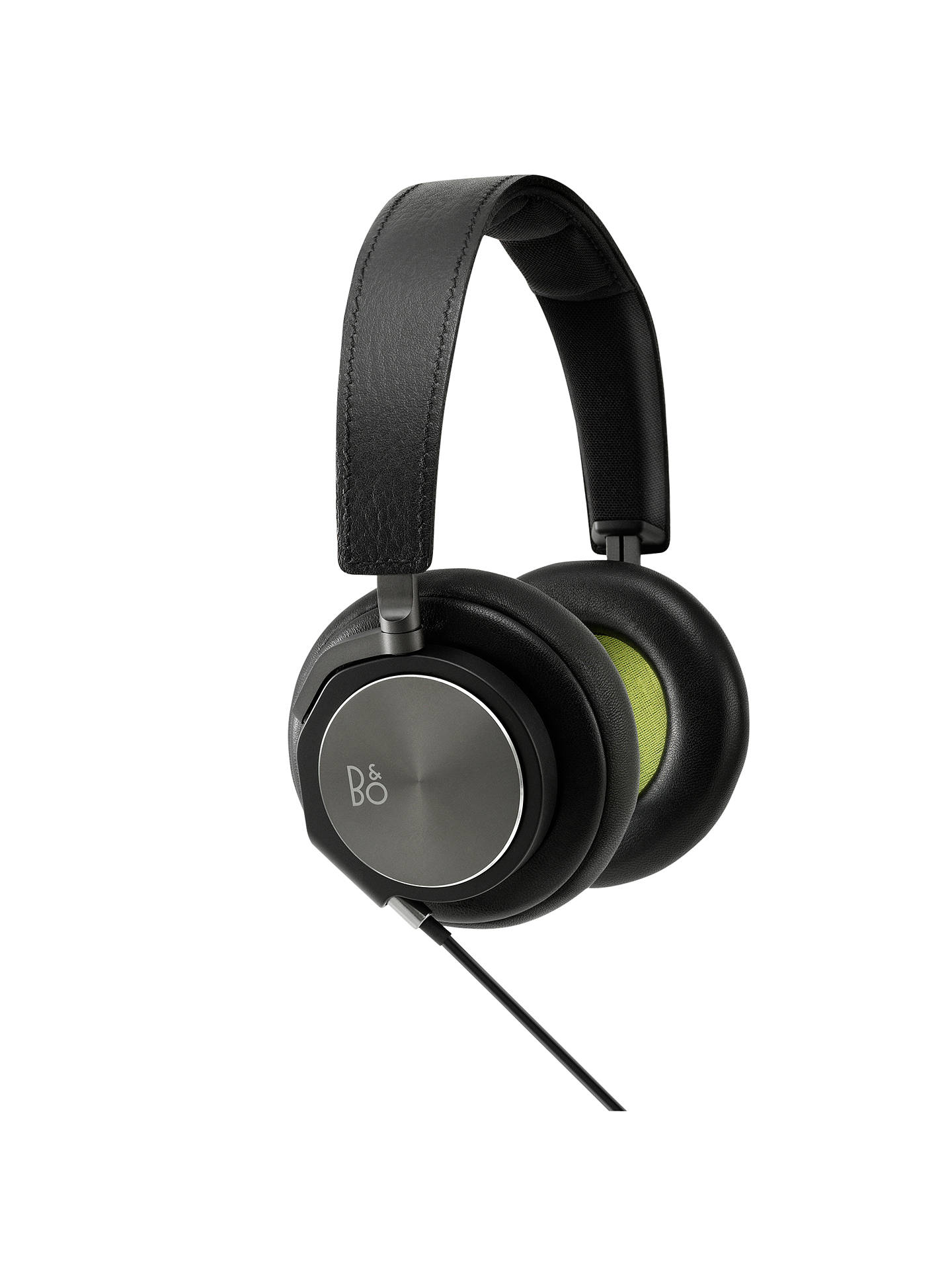 Buy Bang & Olufsen Beoplay H6 On-Ear Headphones with Mic/Remote, Black Online at johnlewis.com