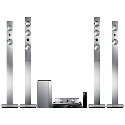 Samsung HT-F9750W 7.1 3D Blu-ray/DVD 4K Upscaling Smart Home Cinema System