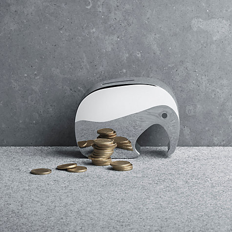 Buy Georg Jensen Miniphant Stainless Steel Money Box Online at johnlewis.com