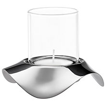 Buy Robert Welch Drift Tealight Holder, Silver Online at johnlewis.com