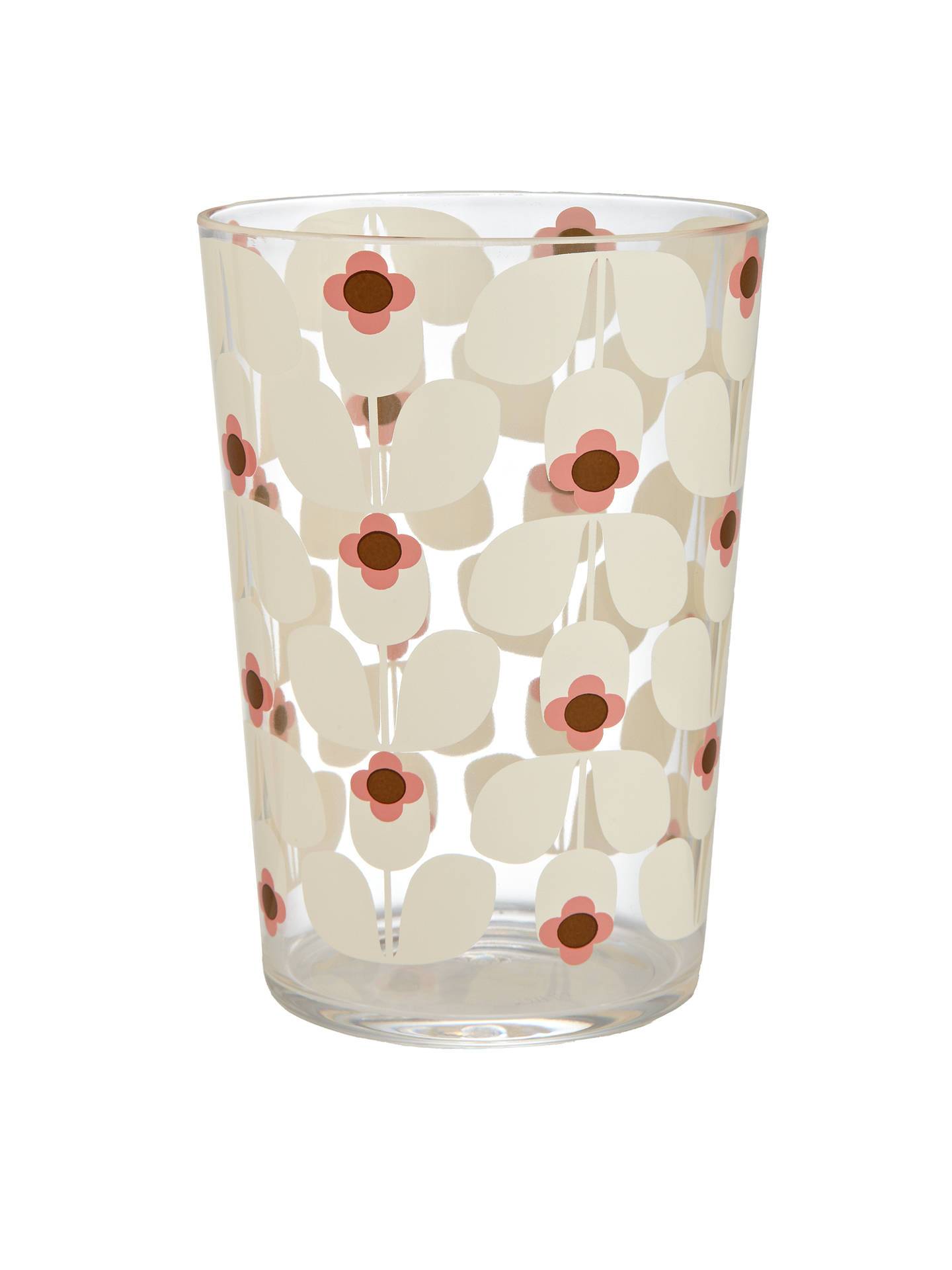 Buy Orla Kiely Wallflower Acrylic Picnic Tumbler, Candy Floss Online at johnlewis.com