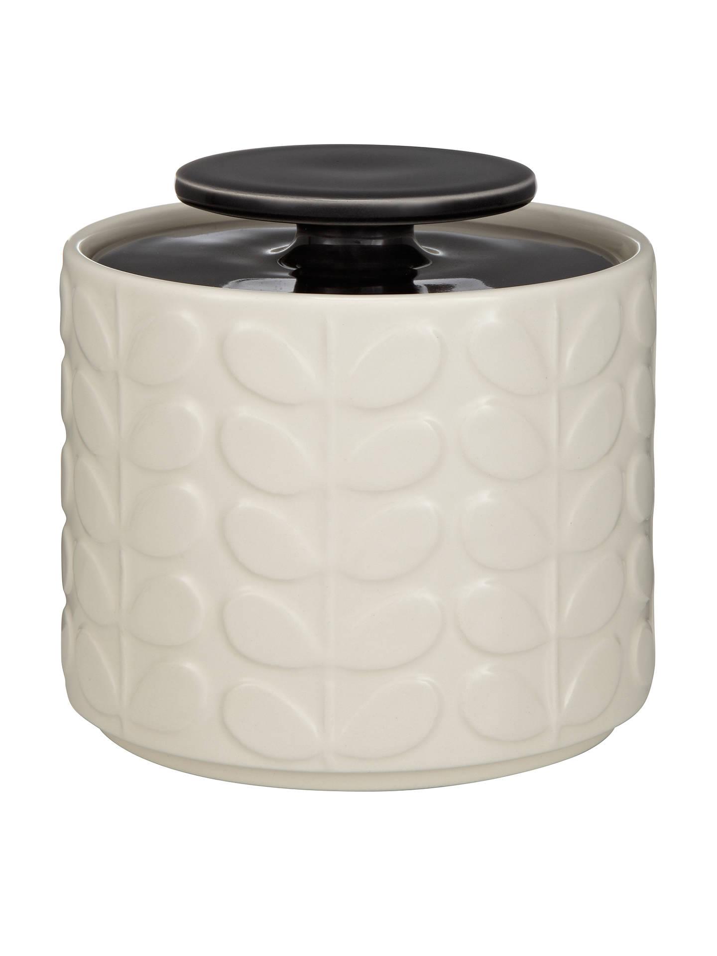 Orla Kiely Raised Stem Ceramic Kitchen Storage Jar 1l At John Lewis
