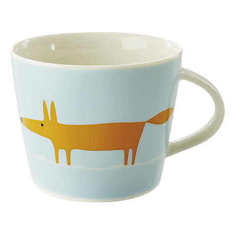 Buy Scion Mr Fox Mug, 350ml Online at johnlewis.com
