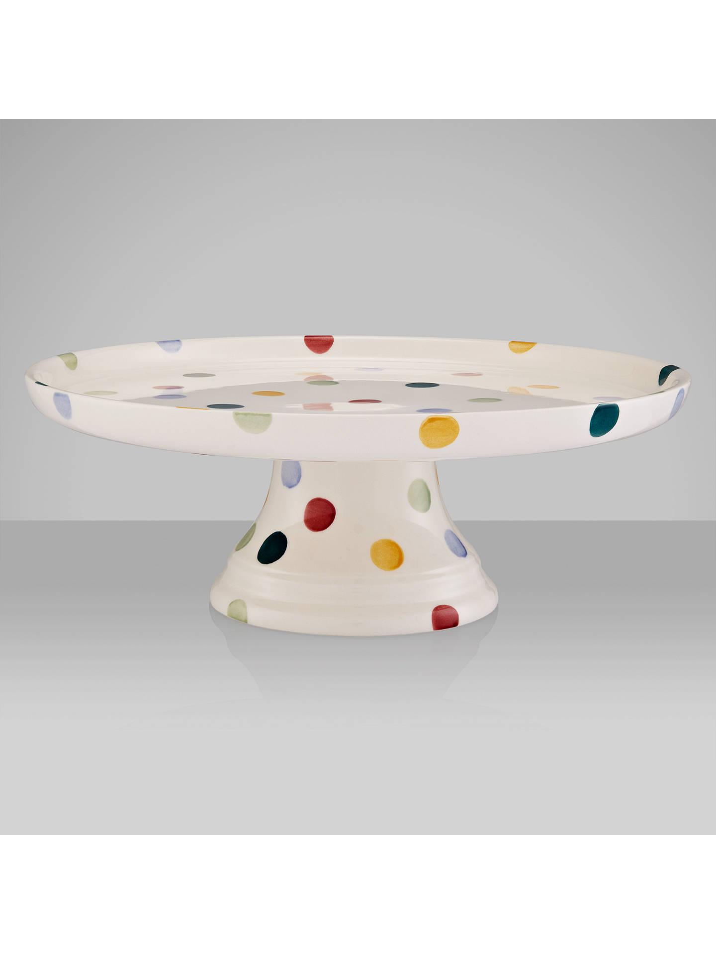 emma bridgewater polka dot cake stand dia 27cm multi at. Black Bedroom Furniture Sets. Home Design Ideas