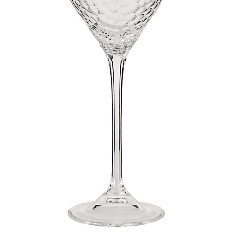 Buy Vera Wang for Wedgwood Cut Lead Crystal Sequin Goblet, Set of 2 Online at johnlewis.com