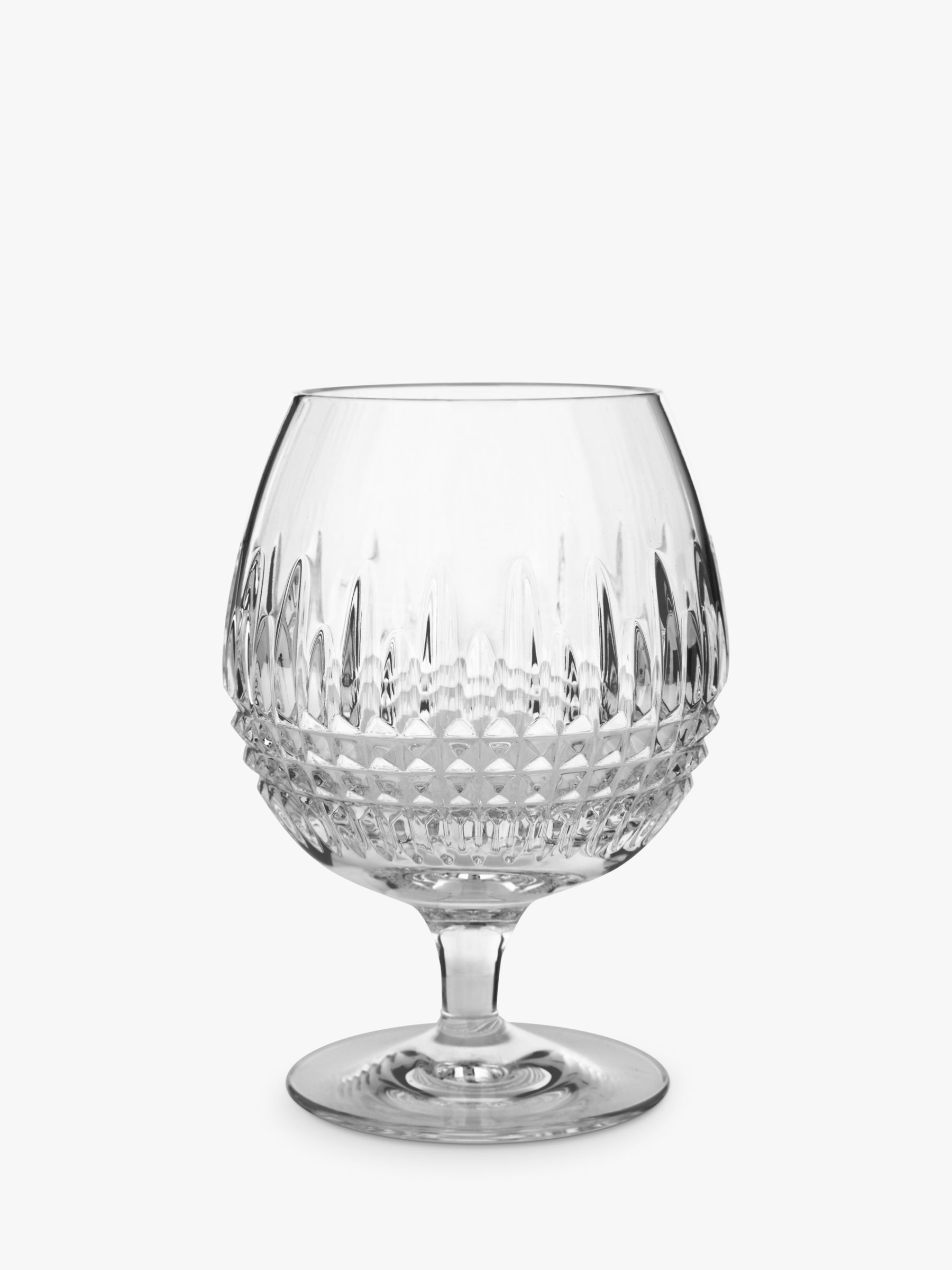 Waterford Waterford Lismore Diamond Brandy Glasses, Set of 2, 500ml, Clear