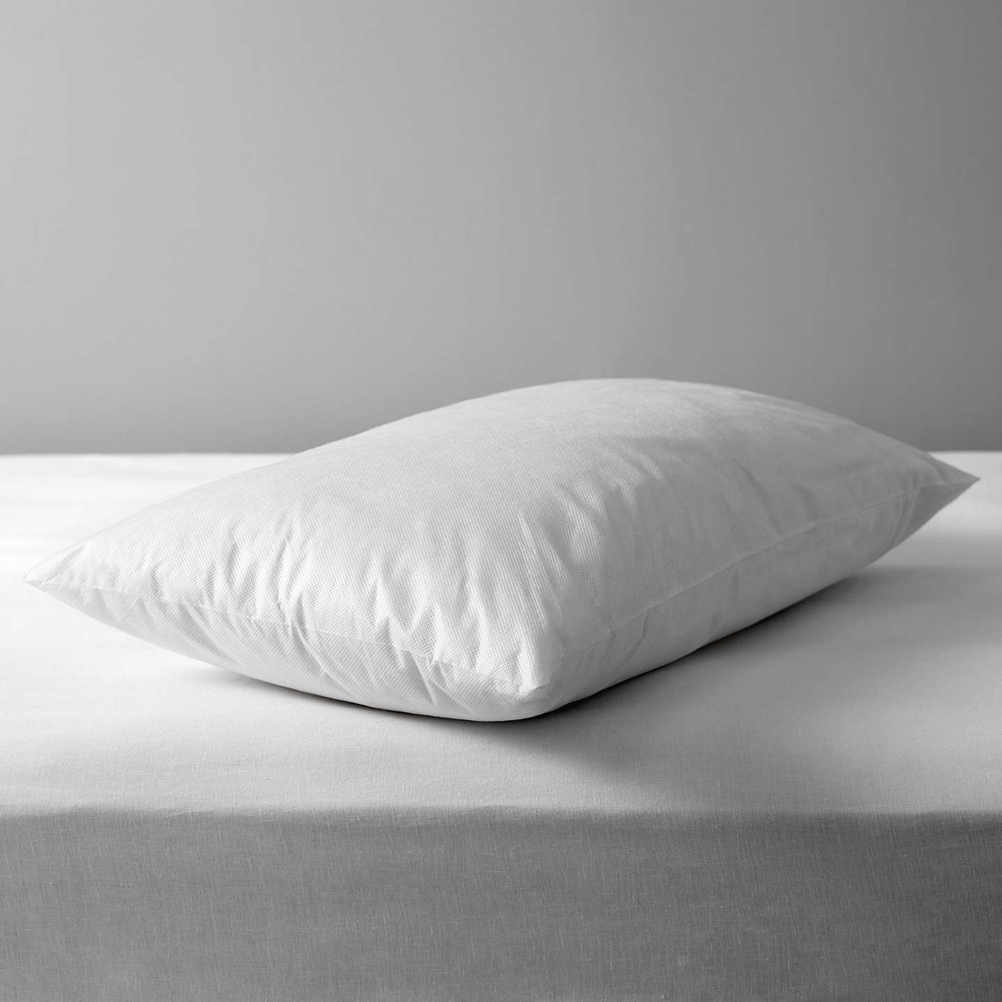 John lewis synthetic anti allergen enclosed standard for Anti allergy pillow protector