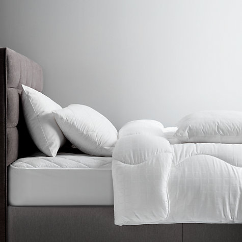 Buy John Lewis Synthetic Collection Breathable Microfibre Standard Pillow, Medium/Firm Online at johnlewis.com