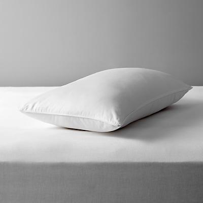 John Lewis Natural Collection Mulberry Silk Blend Standard Pillow, Medium/Firm
