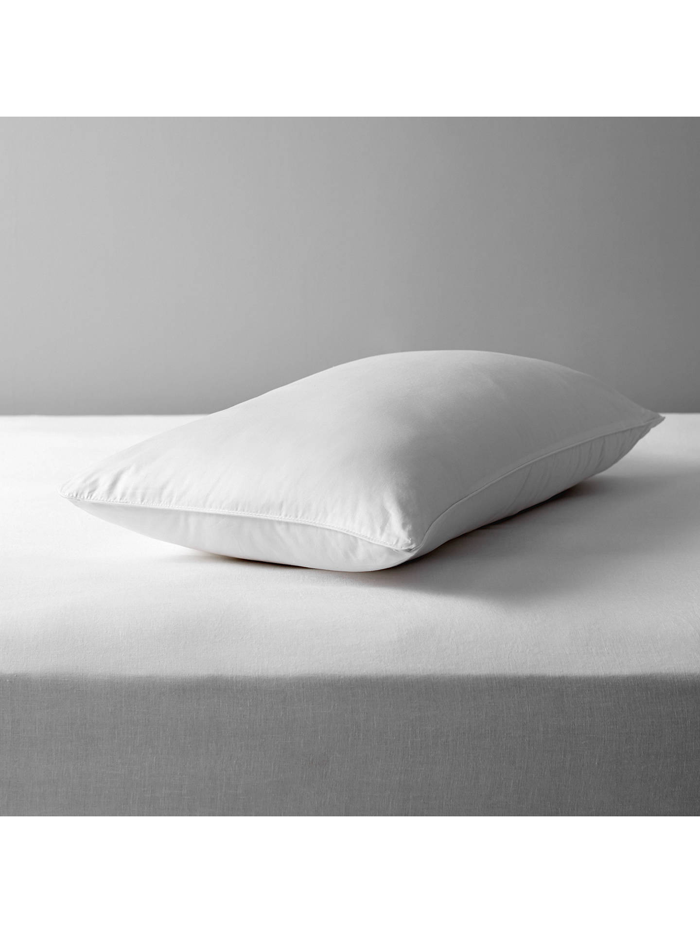 BuyJohn Lewis & Partners Natural Collection Mulberry Silk Blend Standard Pillow, Medium/Firm Online at johnlewis.com