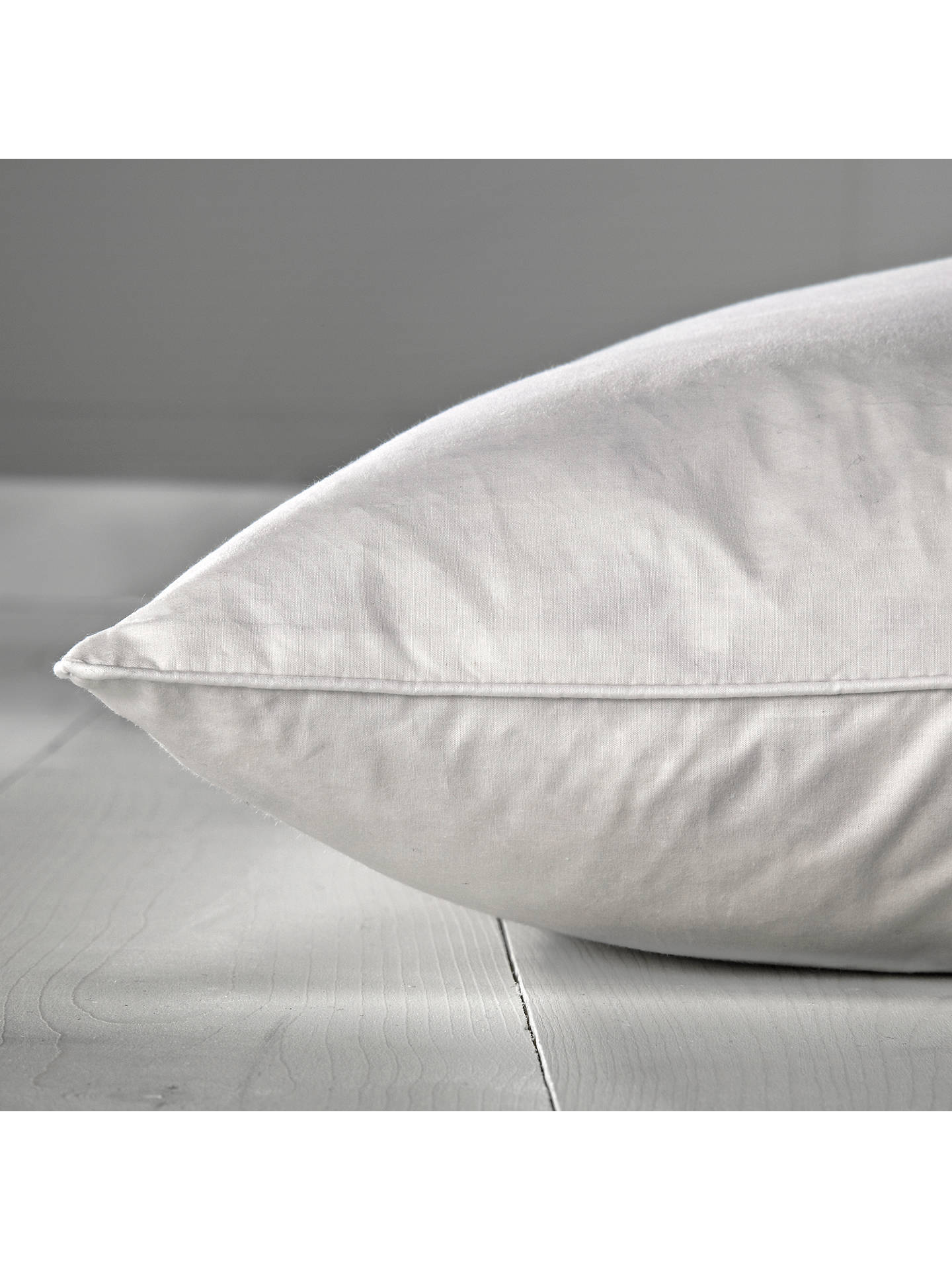 BuyJohn Lewis & Partners Natural Duck Feather Standard Pillow, Soft Online at johnlewis.com