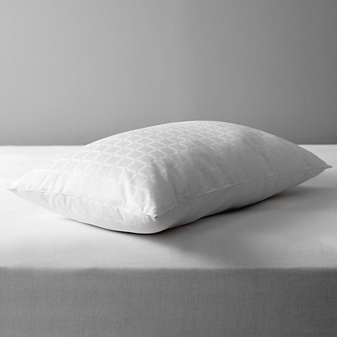 Buy John Lewis Synthetic Collection Breathable Microfibre Standard Pillow, Soft/Medium Online at johnlewis.com