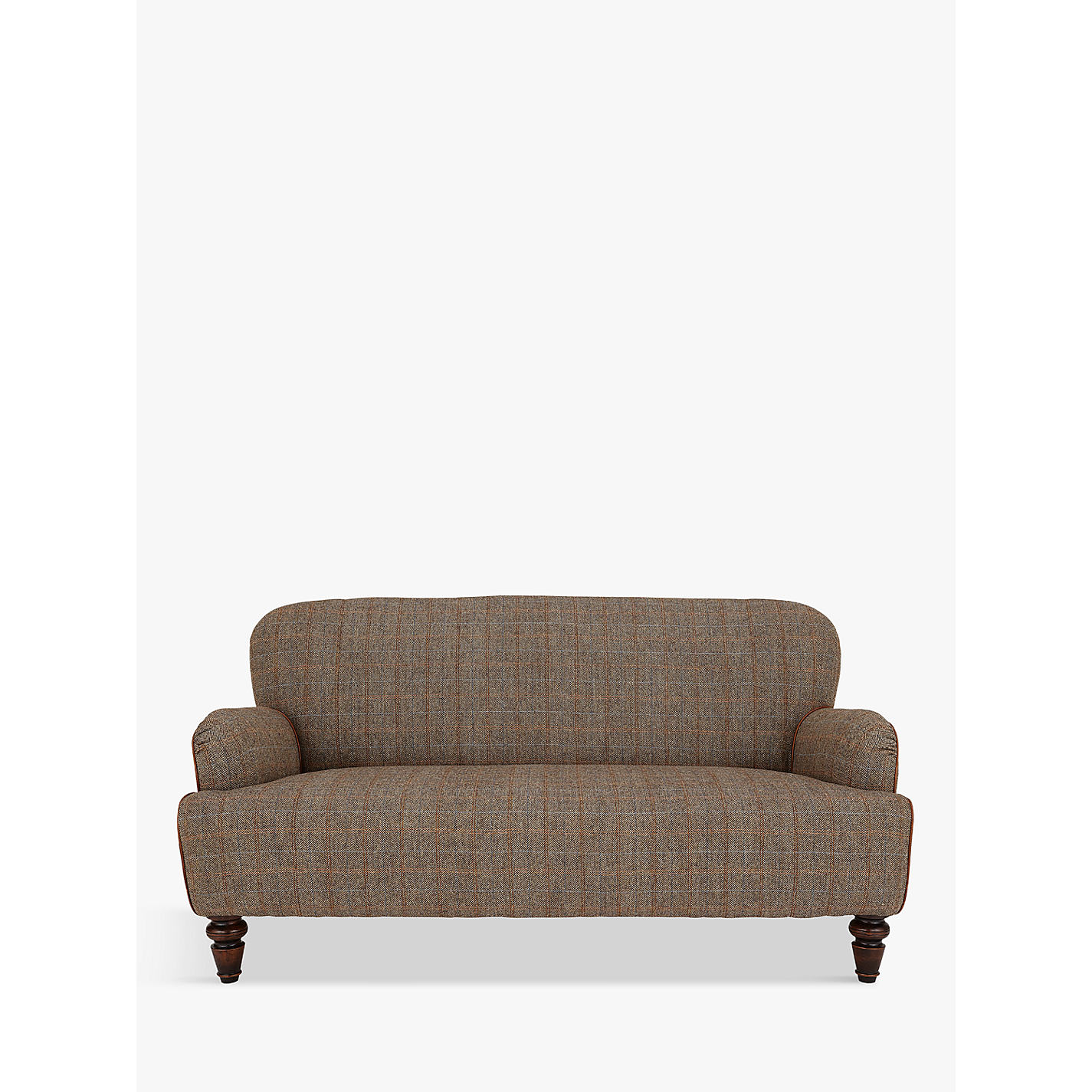Tetrad Harris Tweed Lewis Pee 2 Seater Sofa Bracken Tan Online At Johnlewis