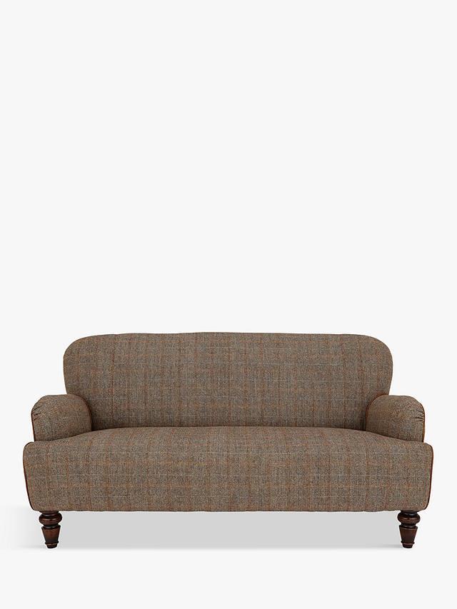 Tetrad Lewis Petite 2 Seater Sofa Harris Tweed Bracken Herringbone At John Lewis Partners