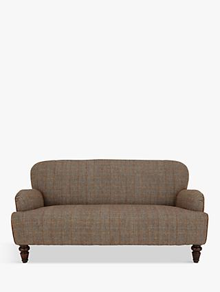 Tetrad Lewis Petite 2 Seater Sofa, Harris Tweed Bracken Herringbone