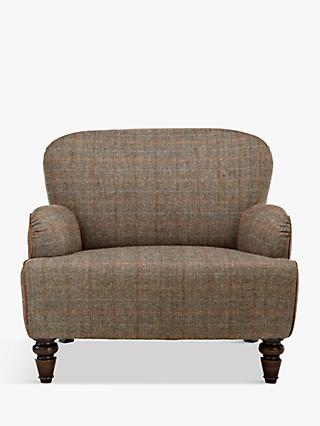 Tetrad Lewis Armchair, Harris Tweed Bracken Herringbone